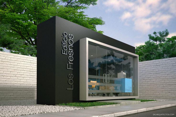 """Diseño de sala de ventas para el proyecto de vivienda """"Los Fresnos"""" en San Isidro, Lima-Perú. // Diseño: S-XL Arquitectos"""