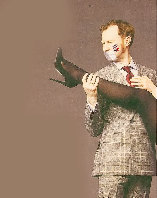 One more reason to adore Mark Gatiss.