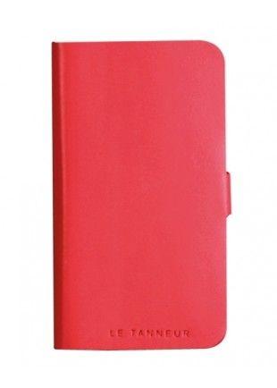 Etui Le Tanneur cuir rose pour iPhone 5/ 5S http://www.phonewear.fr/9366-thickbox/etui-folio-en-cuir-pleine-fleur-rose-corail-le-tanneur-pour-iphone-5.jpg 29,90€