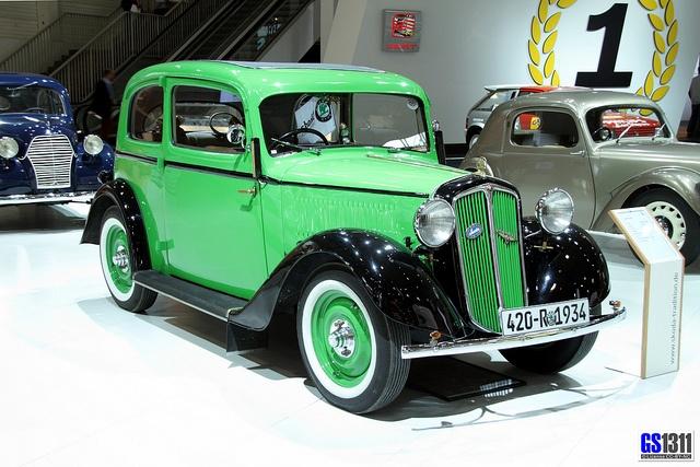 1934 SKODA 420 Rapid #Skoda