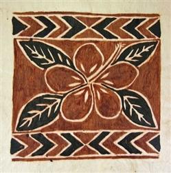 Siapo - barkcloth art from Western Samoa.