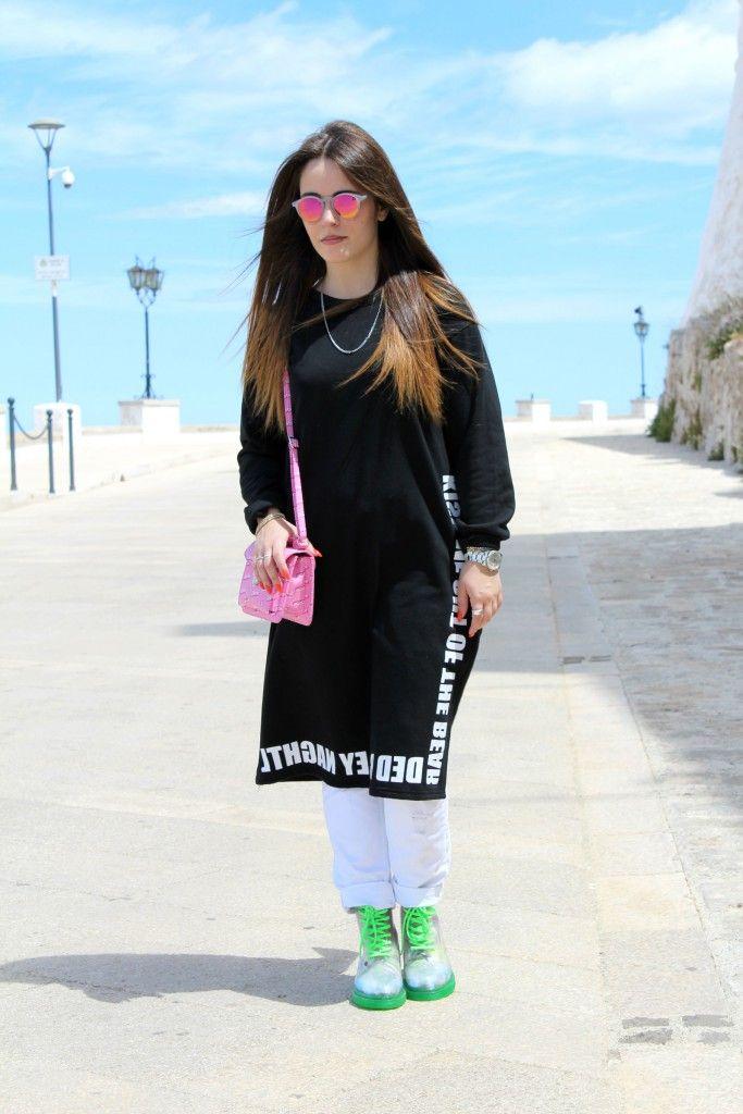 Vestito nero outfit for summer