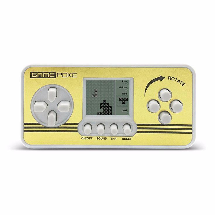 2pcs Retro Children Classical Players Portable Tetris Handheld Video Game Console Tetris kids Gaming Kids Tetris Toys