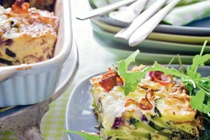 Courgette frittata voor de Paasbrunch