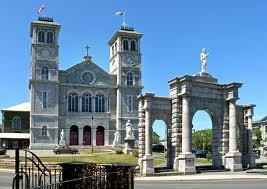 The Basillica, St. John's | Where the Tely 10 Road Race magically turns from painful to fun.