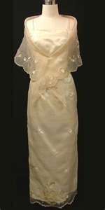FILIPINIANA DRESS www.barongsrus.comMaria Clara Dress