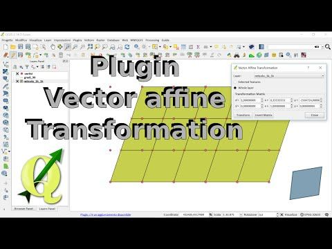 QGIS: Plugin Vector Affine Transformation