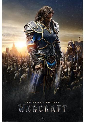 """Poster verticale """"Lothar"""" di #Warcraft. Dimensioni: 61 x 91,5 cm."""