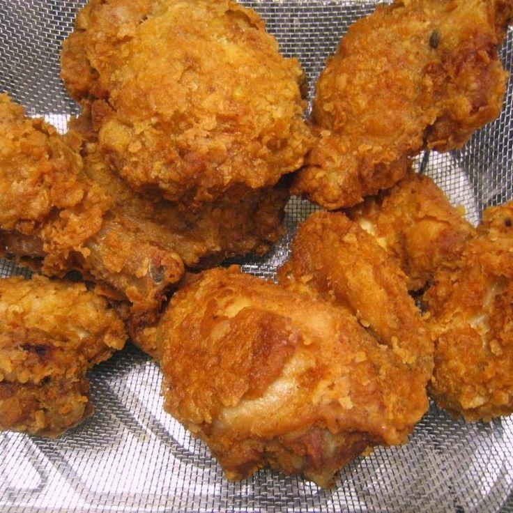 Κοτόπουλο τραγανές κροκέτες !!