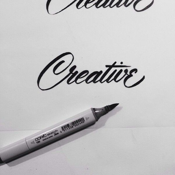 Brush Lettering Collection No. 1 on Typography Served