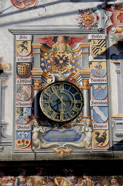 The old Town Hall of Lindau, Germany
