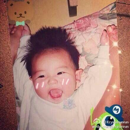 Baby chanyeol