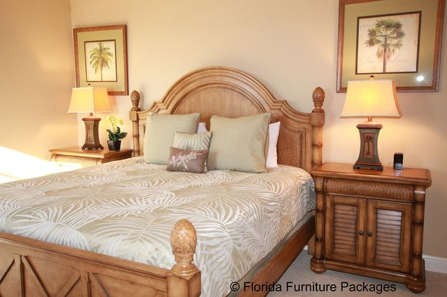 14 best green and peach bedroom images on pinterest peach bedroom bedroom and bedrooms for Tropical style bedroom furniture