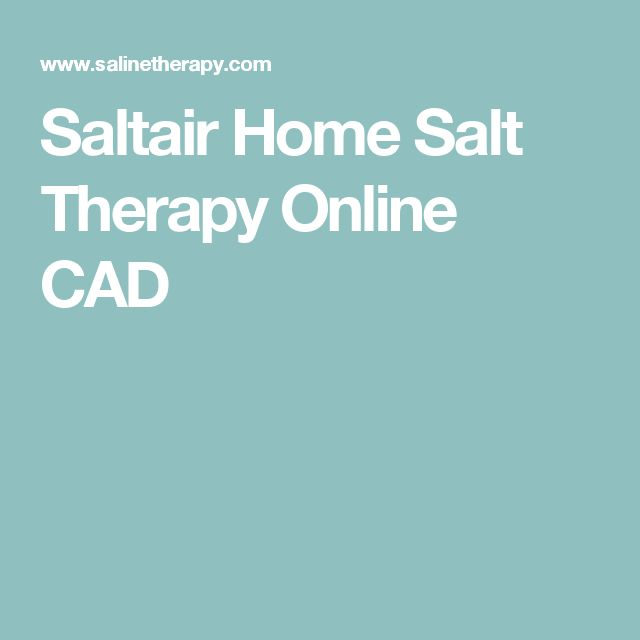 Saltair Home Salt Therapy Online CAD