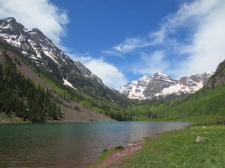 Maroon Bells, The most photographed mountains in America, Colorado, USA