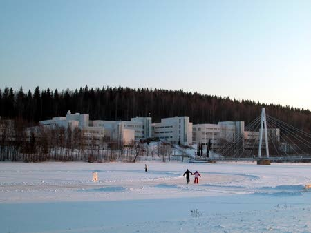 New Campus: Winter