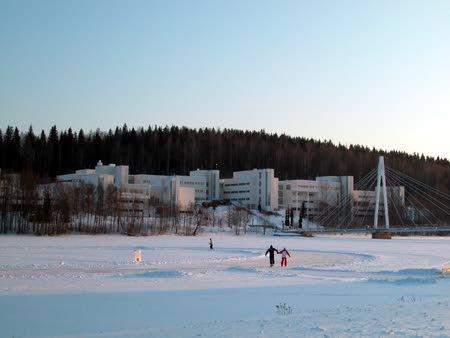 New Campus: Winter