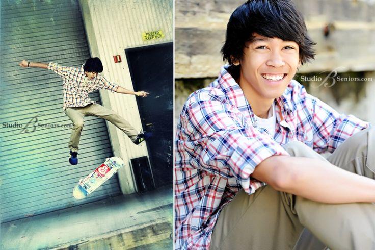 Best-Senior-Pictures-in-Seattle-of-Eastlake-Sammamish-High-School-boy-doing-skateboard-trick