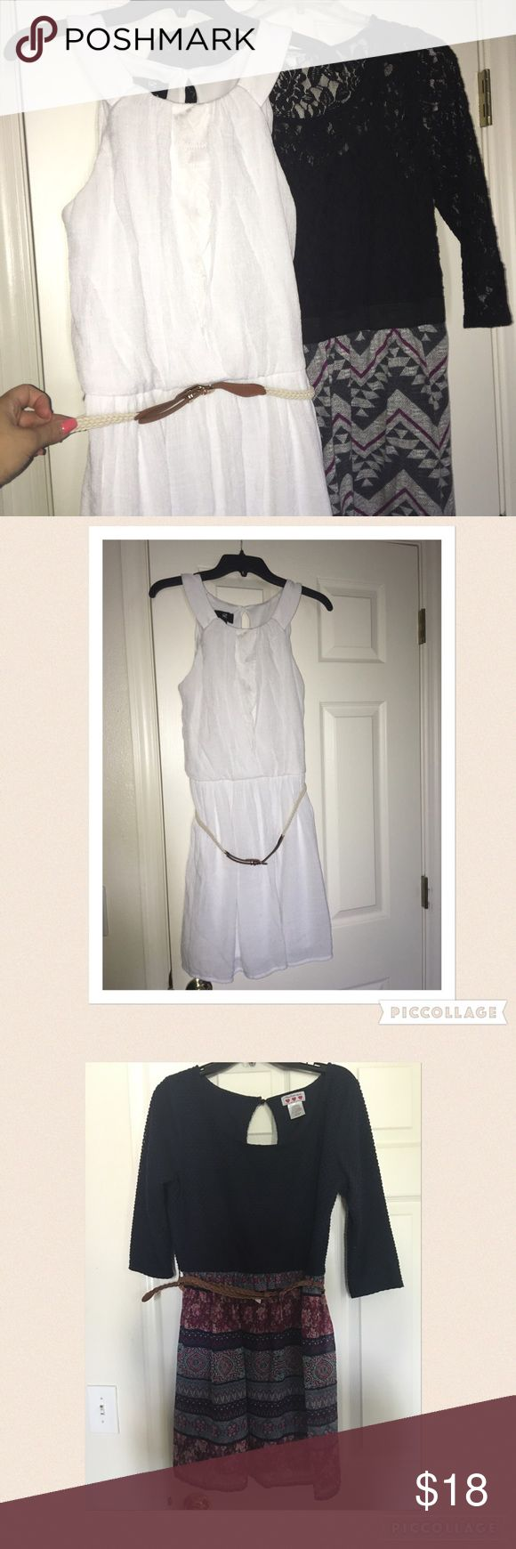 BOGO Two junior dresses  Listing Two Beautiful Junior Dresses. Please refer to individual listings for additional pics. Pre-loved Dresses