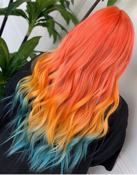 Adorable Hair Color Ideas for Long Hair In 2019
