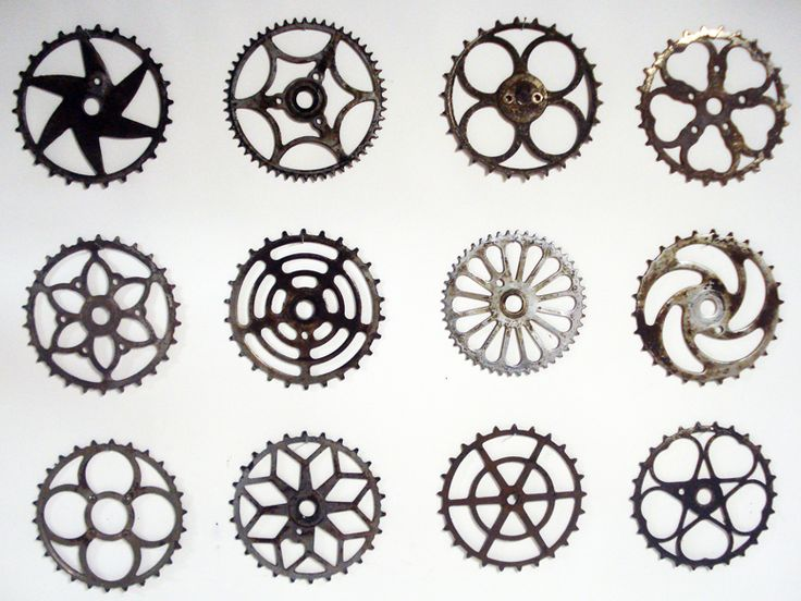gears ... so many things to do with these ....