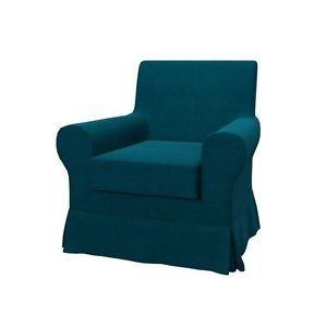 ELEGANCE Turquoise Bezug für IKEA EKTORP Jennylund Sessel in Möbel & Wohnen, Möbel, Sofas & Sessel, Sofabezüge   eBay