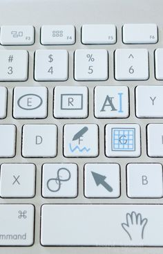 Silhouette Studio Keyboard Shortcut Icons (Free Design File Download) - Silhouette School