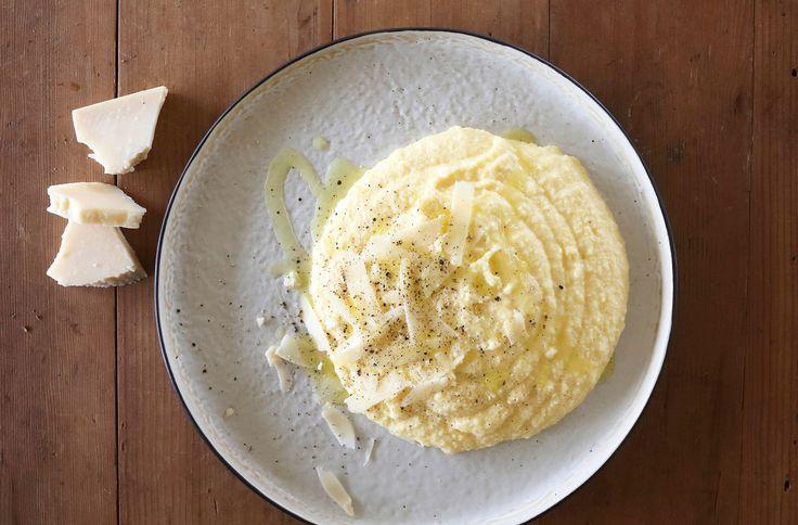 Soft Polenta with Parmesan - Maggie Beer