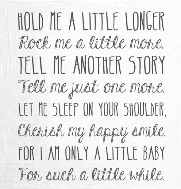 My mantra on the sleepless newborn nights