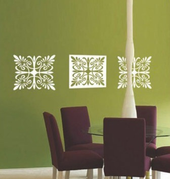 deco white inverted blocks  ...