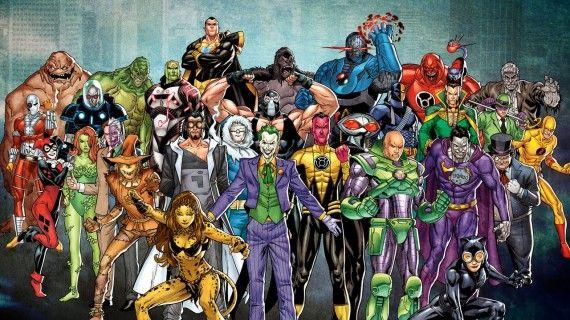 Super Villain Inspirations DC Comics Super Villains 570x320 The Real Life Inspirations Behind Some of the Best Comic Book Villains