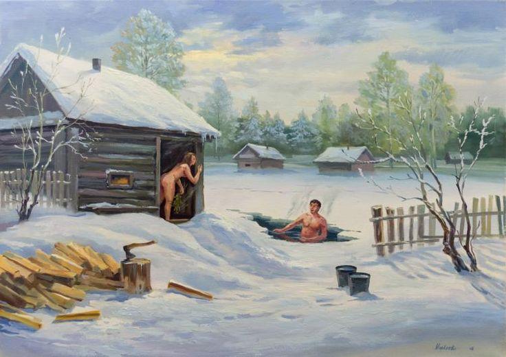 Маркеев Андрей. Русская баня