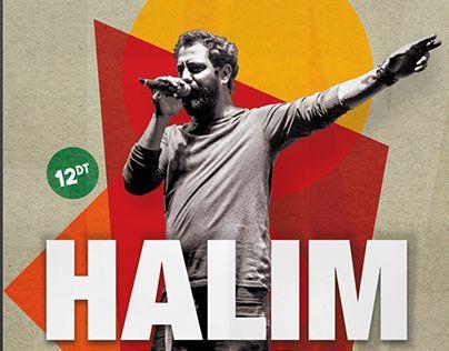 Poster/Ticket: Concert Halim Yousfi à Dar Zaghouan