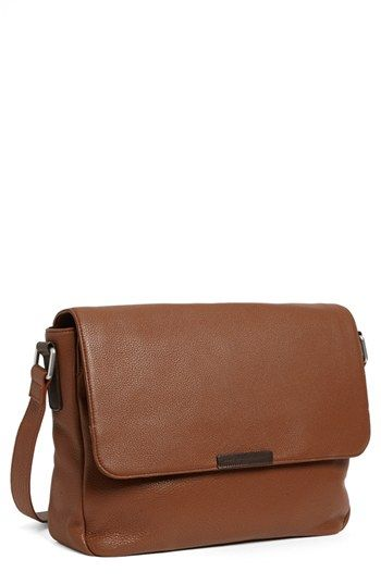 Brown Leather Messenger Bag by Marc by Marc Jacobs. Buy for $398 from Nordstrom