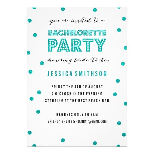 165 best images about Tiffany Blue Bachelorette Party – Bachelor Party Email Invite