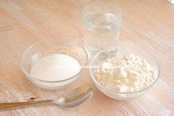 Como hacer pasta de sal para modelado. Arcilla o plastilina casera. | Aprender manualidades es facilisimo.com