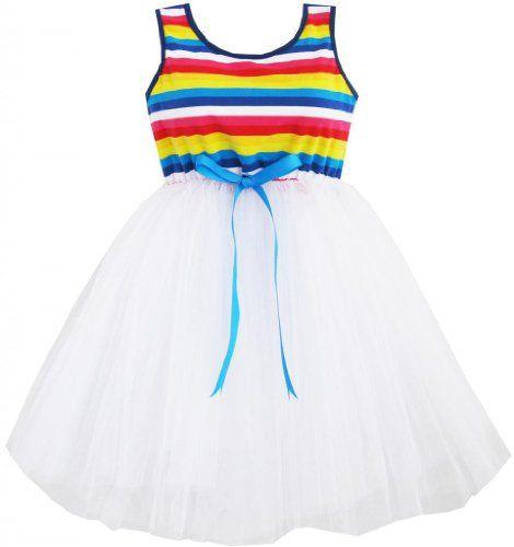DJ62 Girls Dress Colorful Tutu Dancing Lace Party Size 6 Sunny Fashion,http://www.amazon.com/dp/B00E79VLVW/ref=cm_sw_r_pi_dp_qgMBsb0M37CFSHVQ