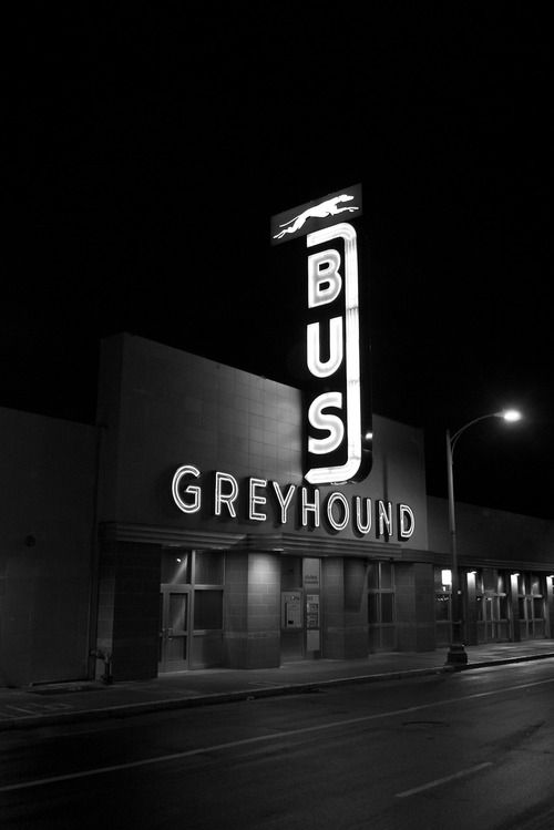 Greyhound Bus station in Oakland. Terry Richardson