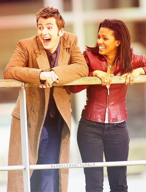 10 and Martha Jones finding out Captain Jack is the face of bo. Blew my mind completely