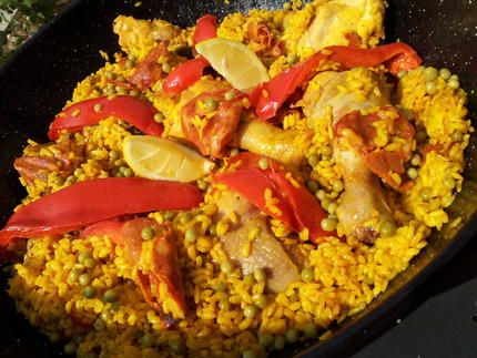 Riz à l'espagnol façon paella