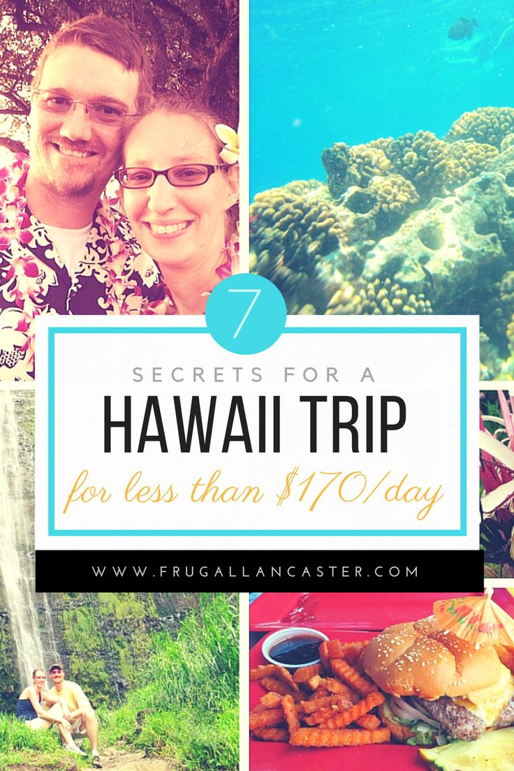 Travel to Hawaii for your anniversary, and celebrate with these money saving tips and ideas. Our costs included a helicopter sight-seeing tour, snorkeling excursion, hikes, luau dinner and the flights and lodging!!