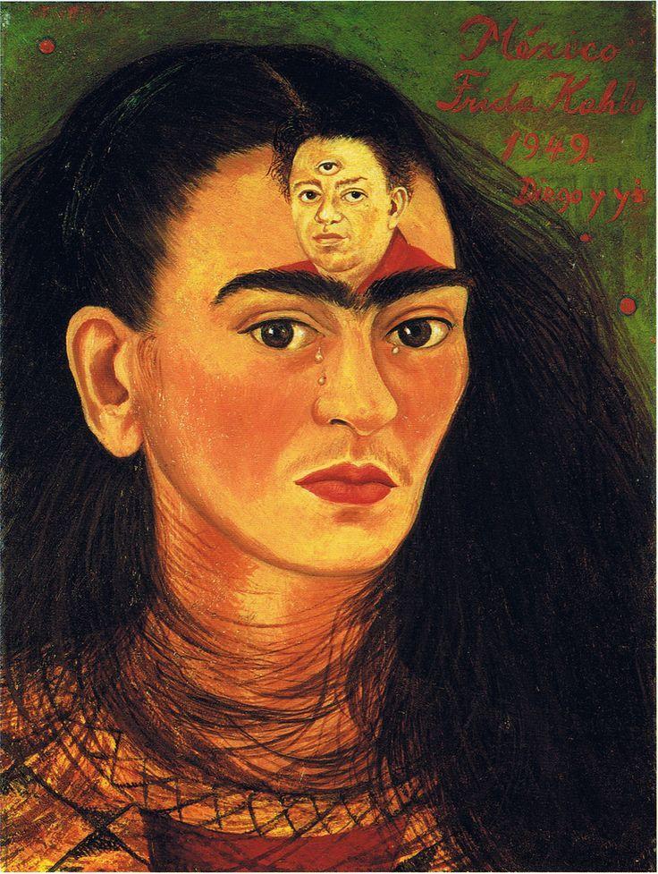 """""""Io e Diego"""", 1949. Frida Kahlo"""