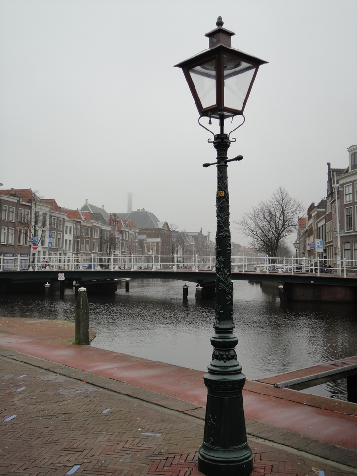 Leiden, city centre, the Netherlands