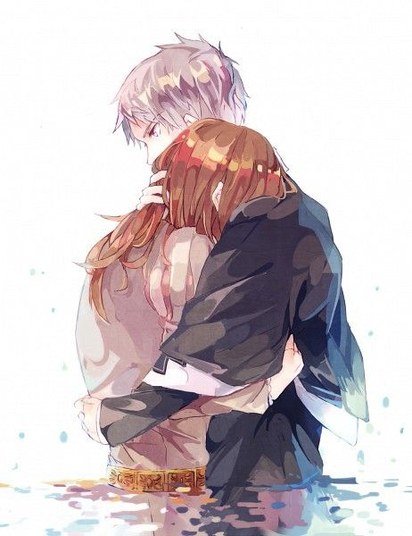 #anime #cry #sad anime couple