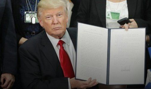 "Kebijakan Imigrasi Diprotes Warga, Trump Malah Asyik Nonton Film Animasi ""Finding Dory"""