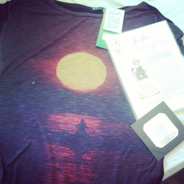 Ganhei essa camiseta da @feitoflor com foto do Achutti. Obrigada!