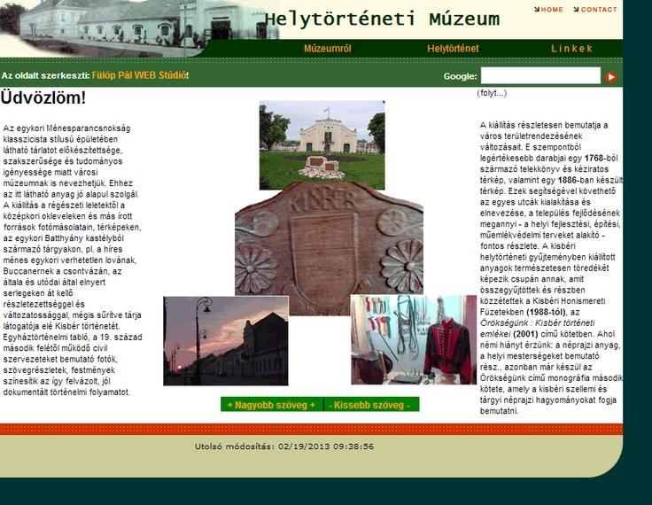 Kisbéri Helytörténeti múzeum