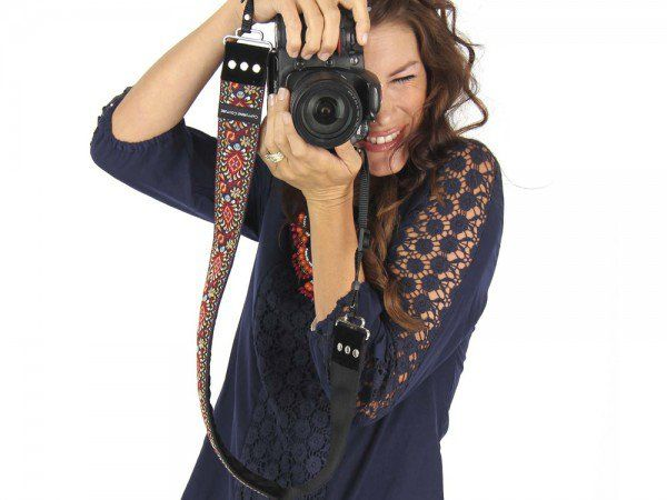 Dave - Designer Camera Strap, Stylish Camera Straps by Capturing Couture = Grommet