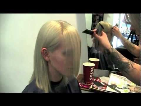 V - Bangs - Cut with Clippers! - YouTube (These V-Bangs are PERFECT!)