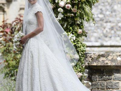 Alles über das Brautkleid von Pippa Middleton!